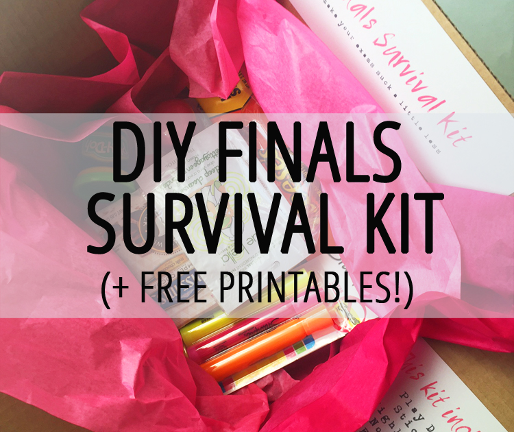 Diy Finals Survival Kit Samanthability