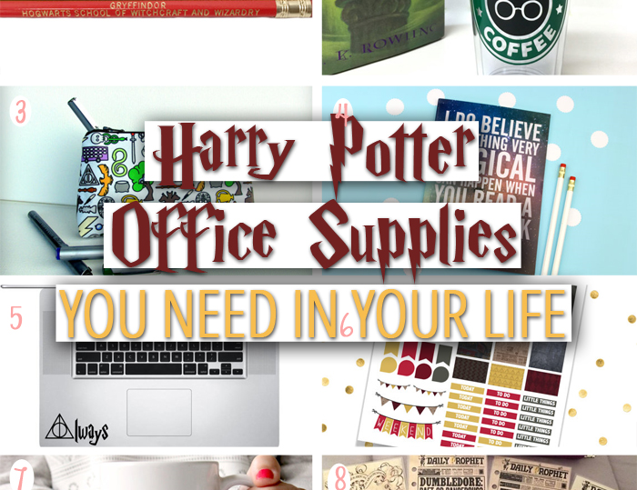 Harry Potter Office Supplies