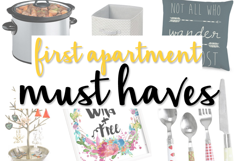 First Apartment Must Haves
