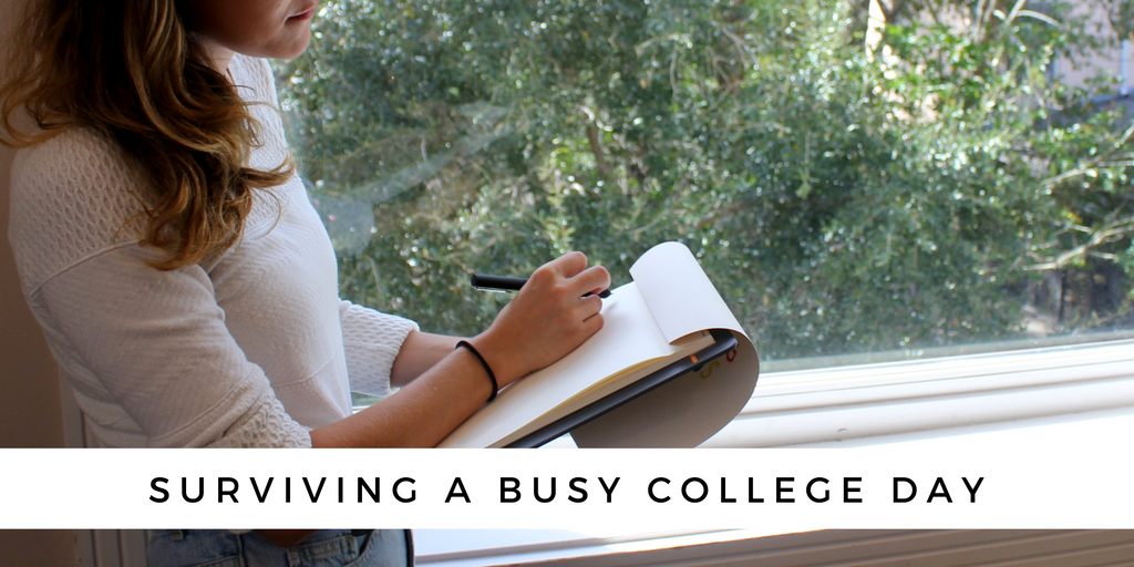 Surviving a busy college day