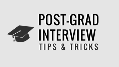 post-grad interview tips