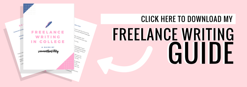 Click here to download the guide to freelance writing!
