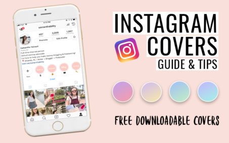 Learn how to customize your instagram story covers!