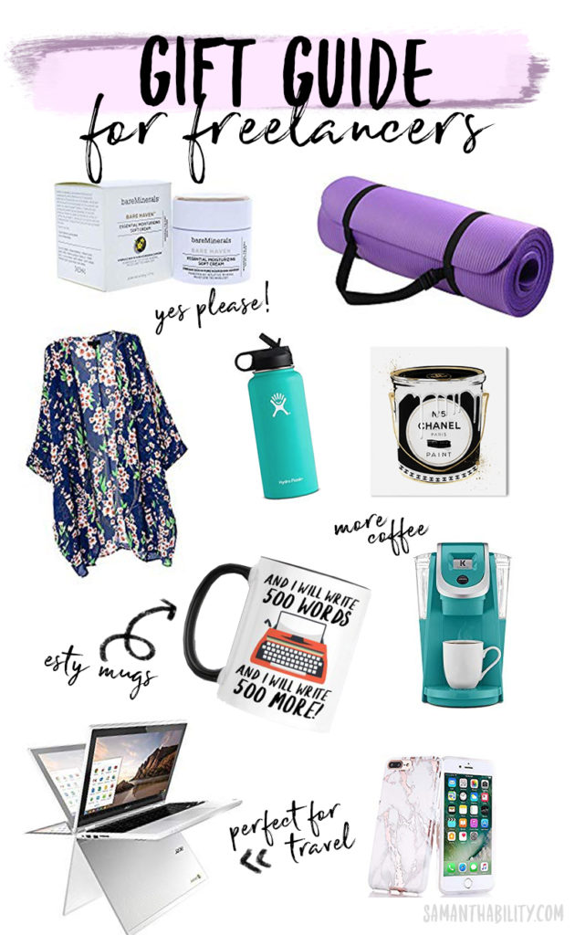 Gift guide for freelancers this holiday