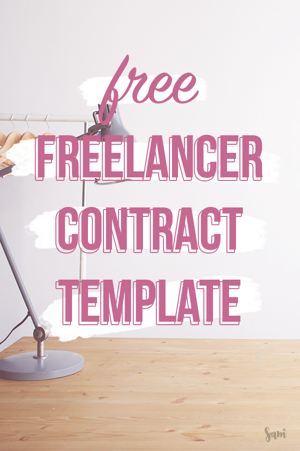 Free freelancer contract for your business