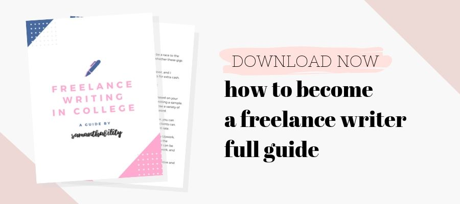 How to become a freelance writer the full guide