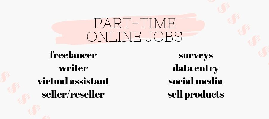 online part-time jobs for students