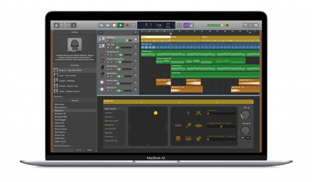 GarageBand for Mac Start a Podcast for your blog